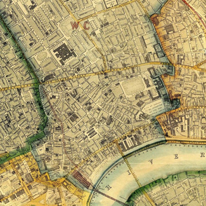 London Vintage Map