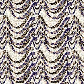 crawling snakes mosaic