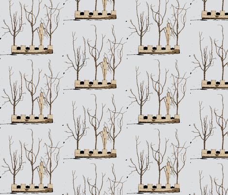 Winter fabric by nancy_martino on Spoonflower - custom fabric
