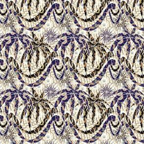 jungle snakes mosaic