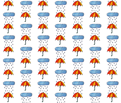 Rainy Day fabric by heathermeade on Spoonflower - custom fabric