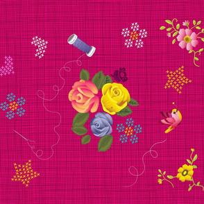 Tea Towel Calendar 2013 - Back Side