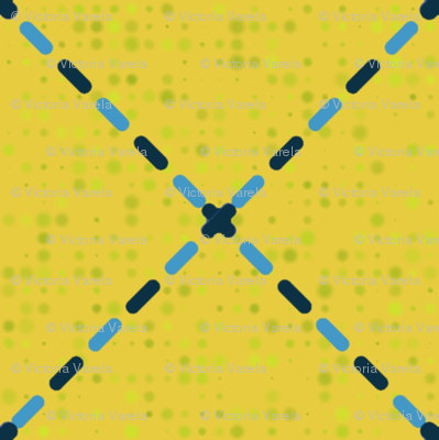 Stitch diamonds