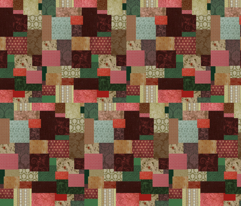 Bilbo's Bathrobe  fabric by buttonmushroom on Spoonflower - custom fabric