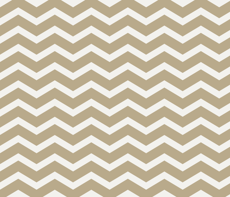 Brown Cocoa Light Chevron fabric by pencreations on Spoonflower - custom fabric