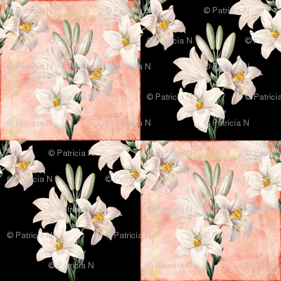 Lilies Patchwork