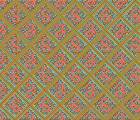 Year of the Snake fabric by rachml on Spoonflower - custom fabric