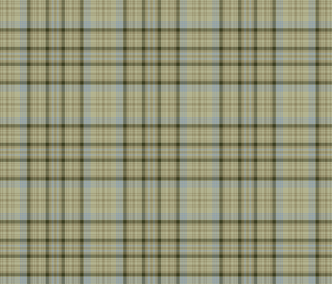 Sage Plaid fabric by peacefuldreams on Spoonflower - custom fabric