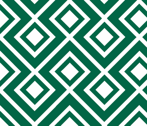 Connect the Blocks Malachite fabric by honey&fitz on Spoonflower - custom fabric