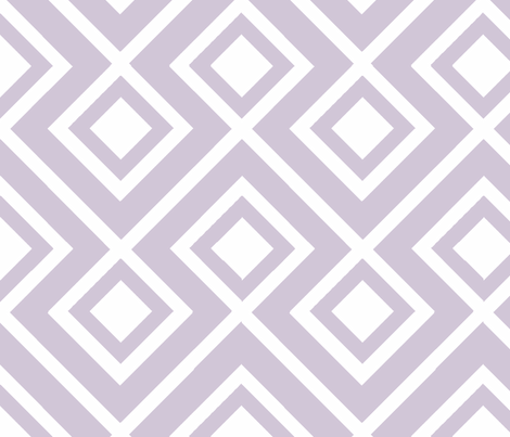 Connect the Blocks Wisteria Reverse fabric by honey&fitz on Spoonflower - custom fabric
