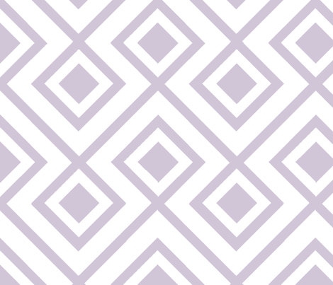 Connect the Blocks Wisteria fabric by honey&fitz on Spoonflower - custom fabric