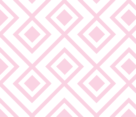 Connect the Blocks Blosom fabric by honey&fitz on Spoonflower - custom fabric