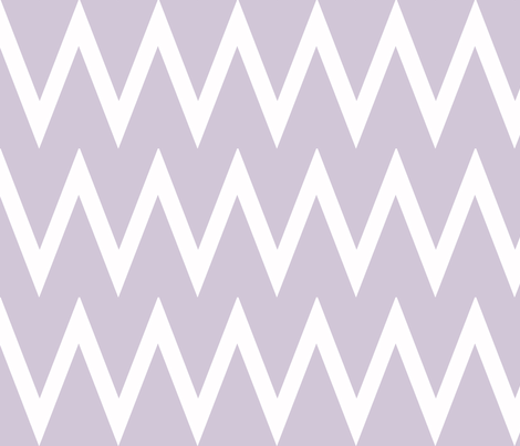 Tall Chevron Wisteria fabric by honey&fitz on Spoonflower - custom fabric