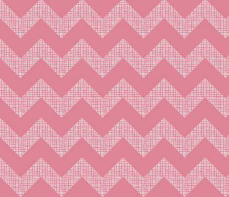 Chevron Sketch Cora Reverse fabric by honey&fitz on Spoonflower - custom fabric
