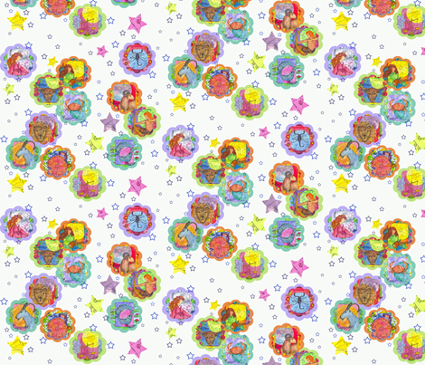 zodiac garden fabric by countrygarden on Spoonflower - custom fabric