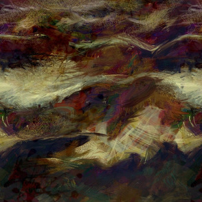 Abstract Cotton Fields