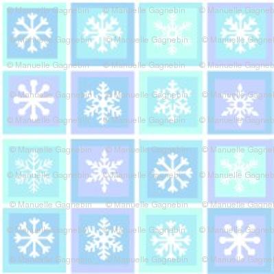 Carreaux de neige
