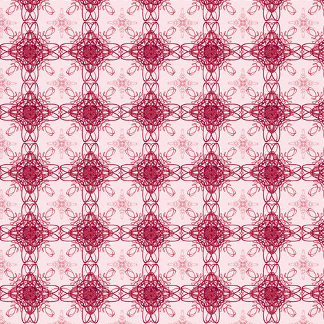 Rose Medallions fabric by mahrial on Spoonflower - custom fabric