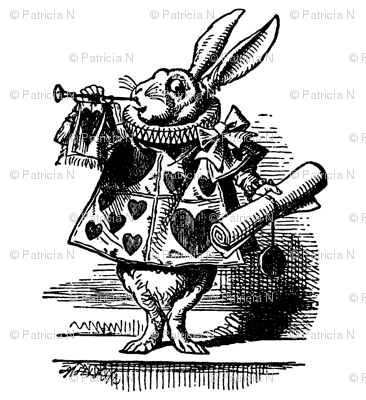 Vintage White Rabbit