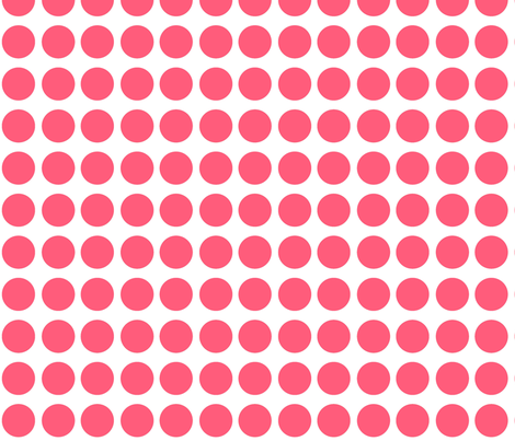 Big Pink Dots fabric by peacefuldreams on Spoonflower - custom fabric