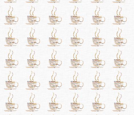 Morning Coffee fabric by peacefuldreams on Spoonflower - custom fabric
