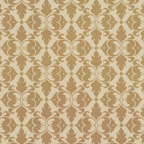 Antique Damask Gold