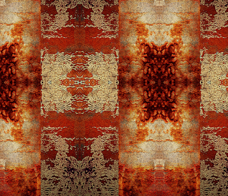 rusty earth fabric by ekeskleurdesign on Spoonflower - custom fabric