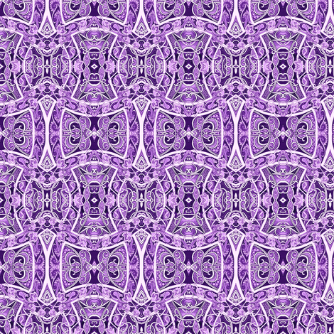 Follow the Lavender Brick Road fabric by edsel2084 on Spoonflower - custom fabric