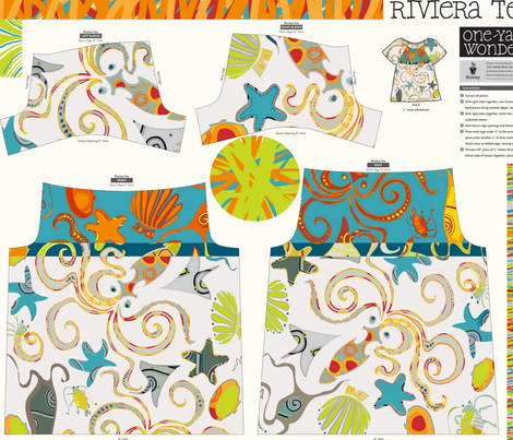 Storey Riviera Tee150 fabric by wren_leyland on Spoonflower - custom fabric