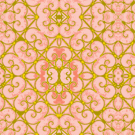 Spanish Gate-4 fabric by susaninparis on Spoonflower - custom fabric