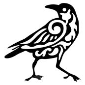 Raven Damask