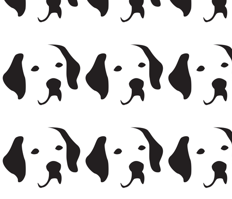 Labrador Large fabric by mariafaithgarcia on Spoonflower - custom fabric