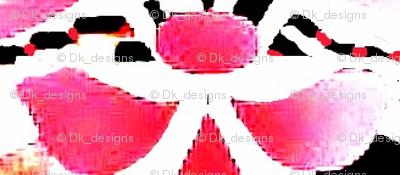 pink petals faded