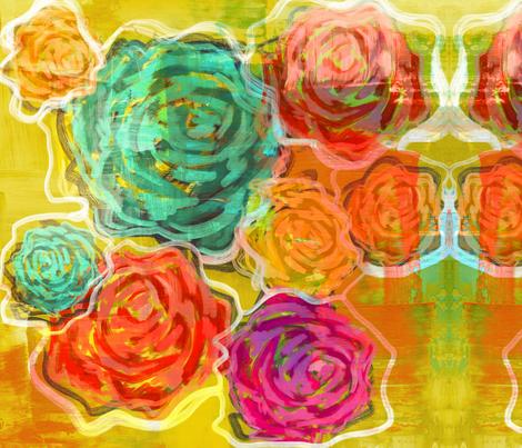 Blooming Beauties fabric by alyssaray on Spoonflower - custom fabric