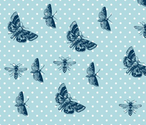 Md_sky_blue_polka_dots_bees_butterflies_shop_preview
