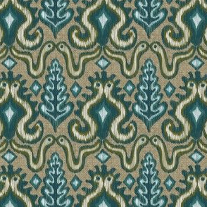 A Slithering Ikat