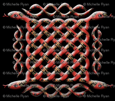 Knotwork Snakes