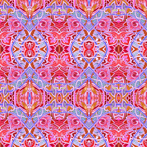 May the Circle Be Unbroken fabric by edsel2084 on Spoonflower - custom fabric