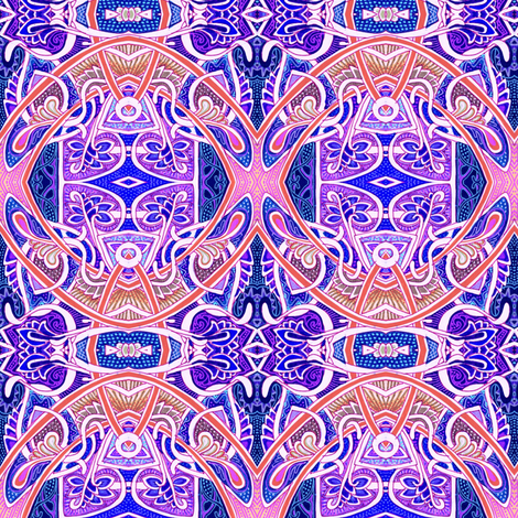 With Three You Get Eggrolls (oriental feeling abstract circles) fabric by edsel2084 on Spoonflower - custom fabric