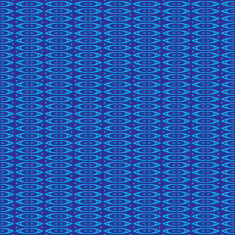 Boho Stripes (Blue) fabric by robyriker on Spoonflower - custom fabric