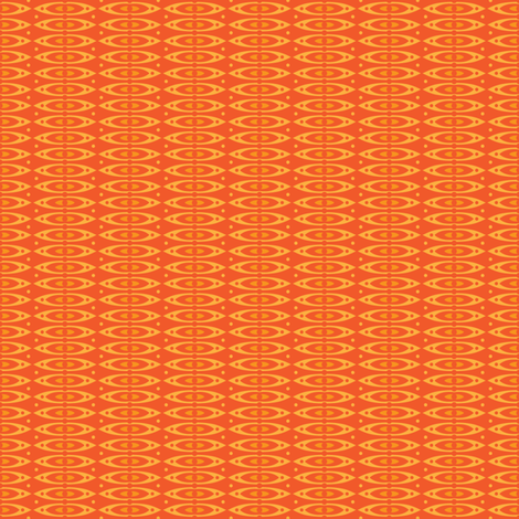 Boho Stripes (Orange) fabric by robyriker on Spoonflower - custom fabric