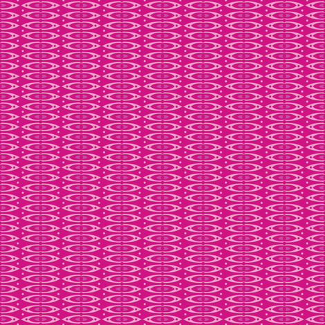 Boho Stripes (Pink) fabric by robyriker on Spoonflower - custom fabric