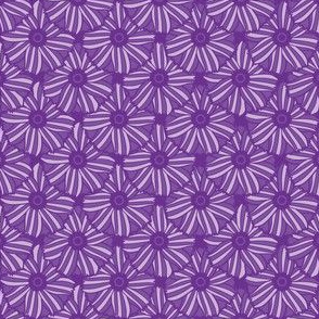 Boho Blossoms Tile (Purple)