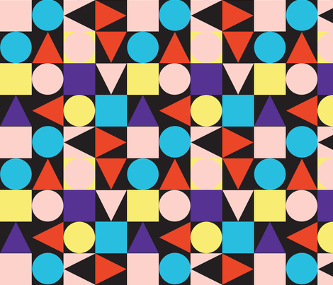 bauhaus fabric by friedbologna on Spoonflower - custom fabric