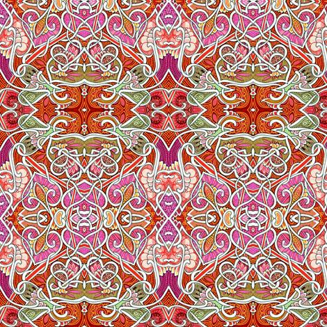 The Secret Life of Houseplants fabric by edsel2084 on Spoonflower - custom fabric