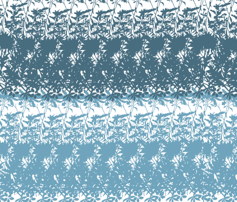 Blue Abstract Duo fabric by peacefuldreams on Spoonflower - custom fabric