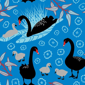 Black Swan Toile