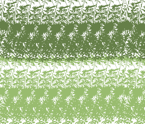 Green Abstract Duo fabric by peacefuldreams on Spoonflower - custom fabric