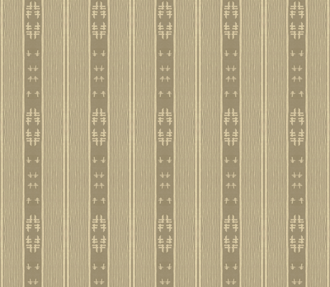 chopstix - tan & taupe fabric by materialsgirl on Spoonflower - custom fabric