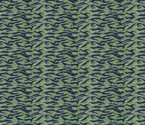 Sixth Scale Silver Tiger Stripe Camo fabric by ricraynor on Spoonflower - custom fabric